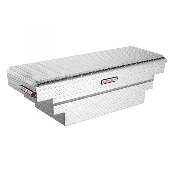 Weather Guard® - Compact Deep Stair Notches Single Lid Crossover Tool Box