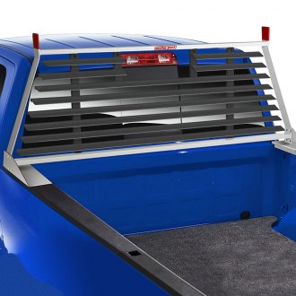 Weather Guard® - PROTECT-A-RAIL™ Aluminum Louvered Cab Protector