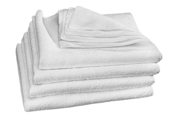 WeatherTech® - TechCare™ Super White Microfiber Cleaning Cloth