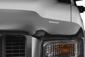 Image may not reflect your exact vehicle! WeatherTech® - Dark Smoke Stone and Bug Deflector