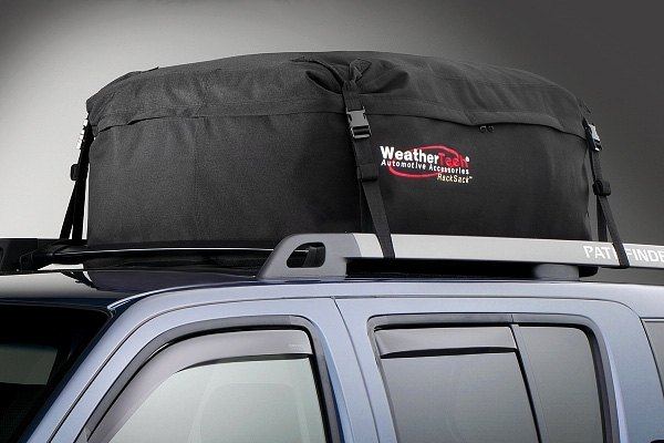 WeatherTech® RackSack Cargo Bag in Use
