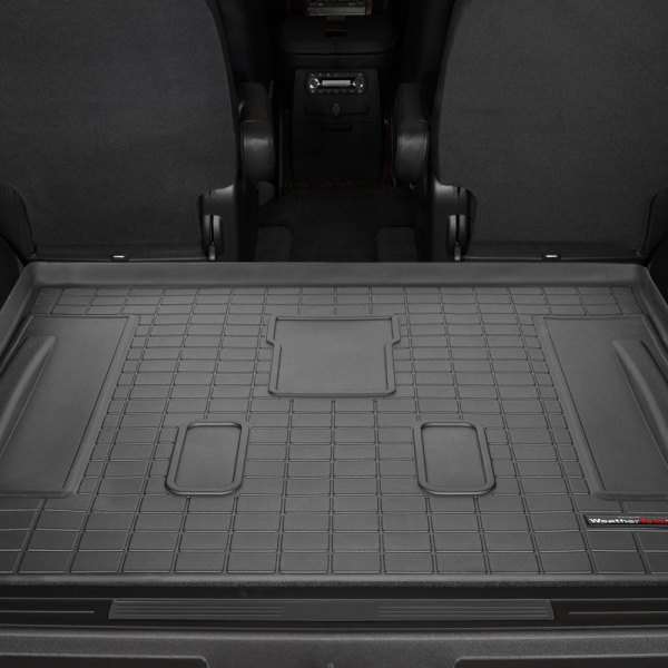 WeatherTech® - Cargo Liner Black, Behind 2nd Row