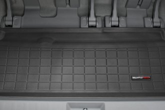 WeatherTech® 40446 - Cargo Liner (Black, Behind 3rd Row)
