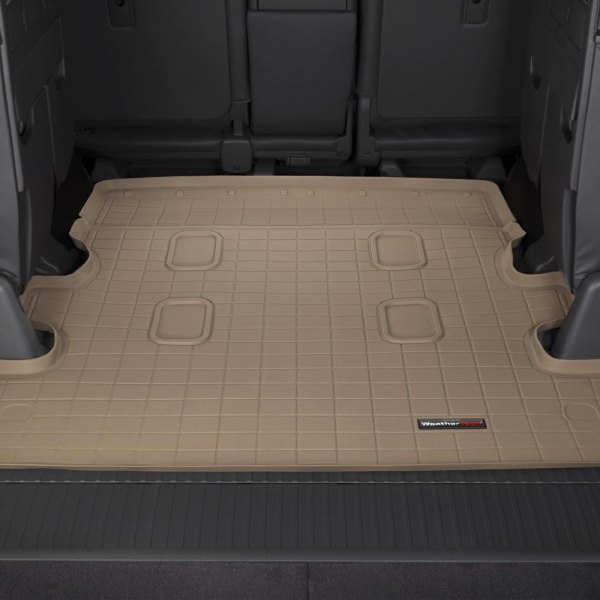 WeatherTech® - Cargo Liner Tan, Behind 2nd Row
