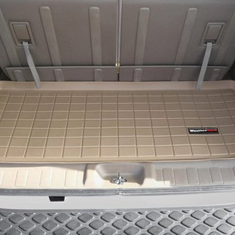 WeatherTech® - Cargo Liner Tan, Behind 3rd Row