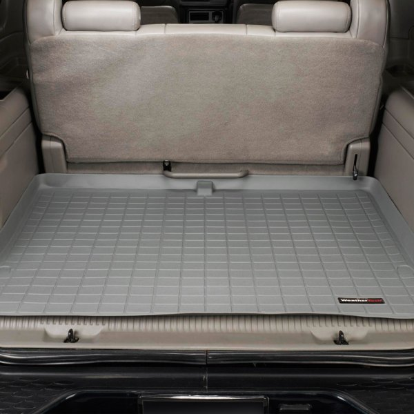 WeatherTech® - Cargo Liner Gray, Behind 3rd Row