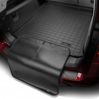 WeatherTech® - Cargo Liner with Bumper Protector (Black, Behind 3rd Row)