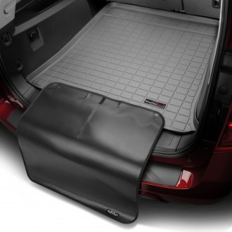 WeatherTech® - Cargo Liner with Bumper Protector (Gray, Behind 3rd Row)