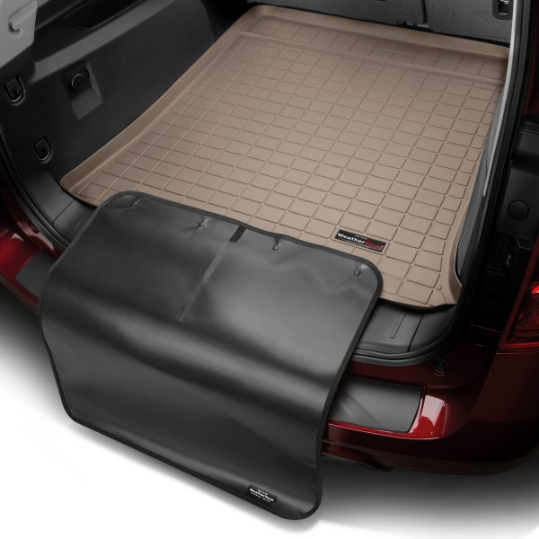 WeatherTech® - Cargo Liner with Black Bumper Protector - Tan