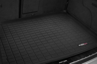 Image may not reflect your exact vehicle! WeatherTech® - Cargo Liner - Black