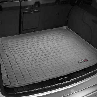 Image may not reflect your exact vehicle! WeatherTech® - Cargo Liner - Gray