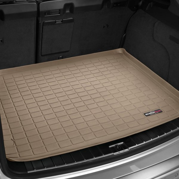 Image may not reflect your exact vehicle! WeatherTech® - Cargo Liner - Tan