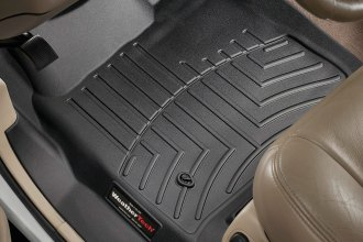 WeatherTech® 440021 - DigitalFit™ Molded Floor Liners (1st Row, Black)