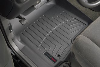 WeatherTech® 440031 - DigitalFit™ Molded Floor Liners (1st Row, Black)