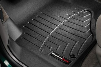 WeatherTech® 440071 - DigitalFit™ Molded Floor Liners (1st Row, Black)