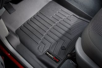 WeatherTech® 440121 - DigitalFit™ Molded Floor Liners (1st Row, Black)