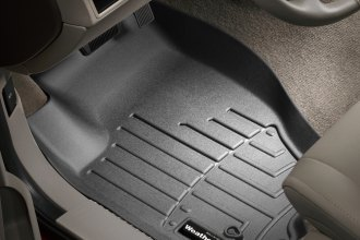 WeatherTech® 440131 - DigitalFit™ Molded Floor Liners (1st Row, Black)