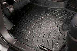 WeatherTech® 440141 - DigitalFit™ Molded Floor Liners (1st Row, Black)