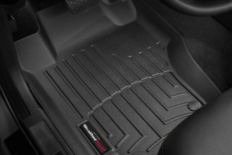 WeatherTech® 440161 - DigitalFit™ Molded Floor Liners (1st Row, Black)