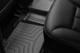 WeatherTech® 440162 - DigitalFit™ Molded Floor Liner (2nd Row, Black)