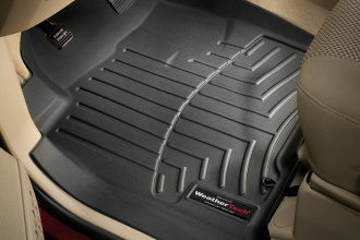 WeatherTech® 440191 - DigitalFit™ Molded Floor Liners (1st Row, Black)