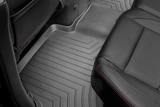 WeatherTech® 440192 - DigitalFit™ Molded Floor Liner (2nd Row, Black)