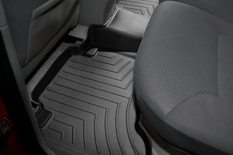 WeatherTech® 440213 - DigitalFit™ Molded Floor Liner (2nd Row, Black)