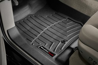 WeatherTech® 440251 - DigitalFit™ Molded Floor Liners (1st Row, Black)