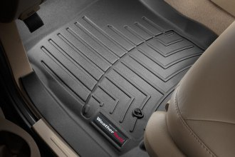 WeatherTech® 440291 - DigitalFit™ Molded Floor Liners (1st Row, Black)