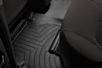 WeatherTech® 440332 - DigitalFit™ Molded Floor Liner (2nd Row, Black)