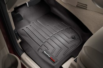 WeatherTech® 440431 - DigitalFit™ Molded Floor Liners (1st Row, Black)