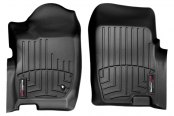 WeatherTech® - DigitalFit™ Molded Floor Liners - 1st Row, Black