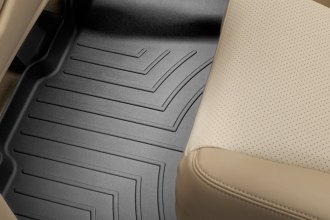 WeatherTech® 440432 - DigitalFit™ Molded Floor Liner (2nd Row, Black)