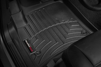 WeatherTech® 440451 - DigitalFit™ Molded Floor Liners (1st Row, Black)