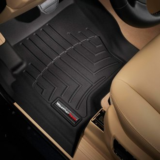 WeatherTech® - DigitalFit™ Molded Floor Liners (1st Row, Black)