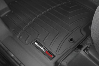WeatherTech® 440471 - DigitalFit™ Molded Floor Liners (1st Row, Black)