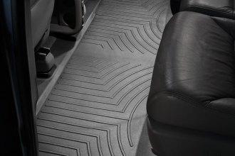 WeatherTech® 440492 - DigitalFit™ Molded Floor Liners (2nd Row, Black)