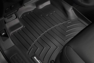 WeatherTech® 440501 - DigitalFit™ Molded Floor Liners (1st Row, Black)
