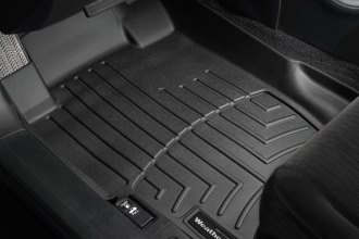 WeatherTech® 440601 - DigitalFit™ Molded Floor Liners (1st Row, Black)