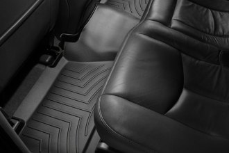 WeatherTech® 440612 - DigitalFit™ Molded Floor Liners (2nd Row, Black)