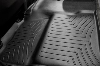 WeatherTech® 440660 - DigitalFit™ Molded Floor Liner (2nd Row, Black)