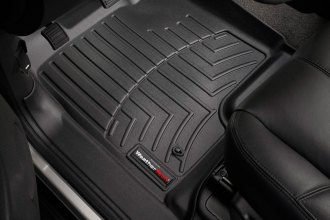 WeatherTech® 440661 - DigitalFit™ Molded Floor Liners (1st Row, Black)