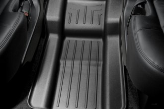 WeatherTech® 440667 - DigitalFit™ Molded Floor Liners (Center Aisle, Black)