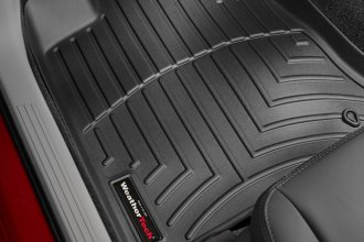 WeatherTech® 440691 - DigitalFit™ Molded Floor Liners (1st Row, Black)