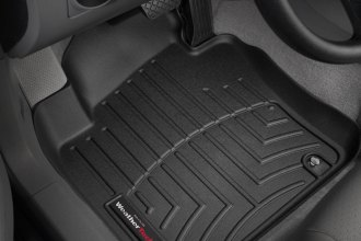 WeatherTech® 440801 - DigitalFit™ Molded Floor Liners (1st Row, Black)