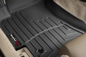 WeatherTech® 440831 - DigitalFit™ Molded Floor Liners (1st Row, Black)