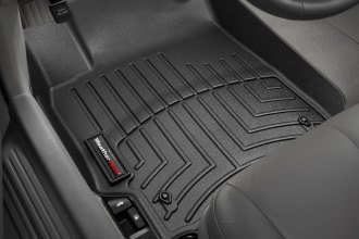 WeatherTech® 440841 - DigitalFit™ Molded Floor Liners (1st Row, Black)