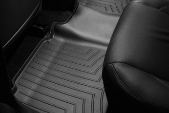 WeatherTech® 440842 - DigitalFit™ Molded Floor Liners (2nd Row, Black)