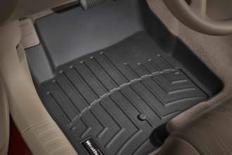 WeatherTech® 440861 - DigitalFit™ Molded Floor Liners (1st Row, Black)