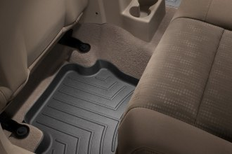 WeatherTech® 440862 - DigitalFit™ Molded Floor Liners (2nd Row, Black)